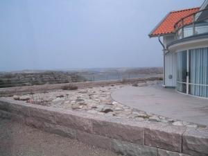 Granitmur byggd med felixmur